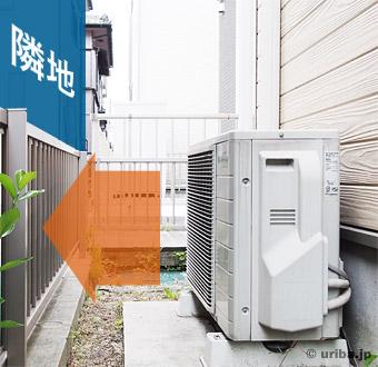 室外機 風除けルーバー、室外機の風対策に|uriba.jp